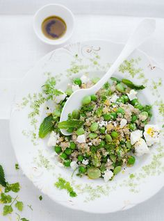 Spring Quinoa Salad Recipe — from my book Small Plates and Sweet Treats