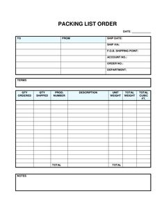 Blank Shopping List Printable Template   Blank Grocery List Template ...