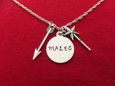 Malec Shadowhunters inspirado collar Magnus y Alec