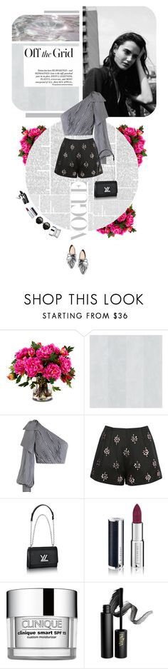 """""""Untitled #347"""" by polyv0r3 ❤ liked on Polyvore featuring New Growth Designs, Loeffler Randall, Zimmermann, Keepsake the Label, Givenchy, Clinique and INIKA"""