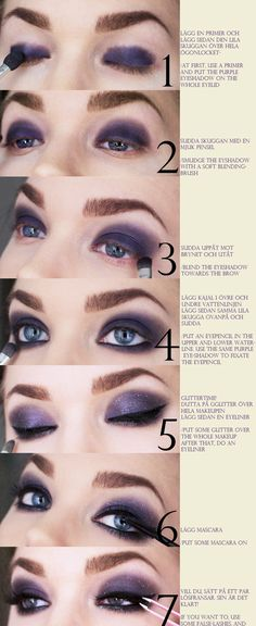 Click to Host Your Online or In Person Makeup Party to earn Free and Discounts on Motives Cosmetics for this Glitter Eye Tutorial!   #Eyeliner #Glitter #Shop