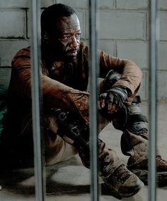 """The Walking Dead Season 6 Episode 4 """"Here's Not Here"""" Morgan Jones"""
