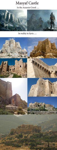Masyaf Castle in Masyaf Syria ... 8B putting on me nerd glasses.