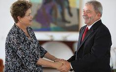 Dilma tem reunião fechada com Lula para discutir suspeitas contra ex-presidente