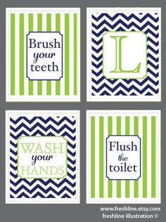 Bathroom Signs Brush Your Teeth i say this at least 10 times a day might as well put it on the