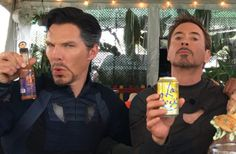 RDJ and Benny C are chillin' on set of 'Avengers: Infinity War,' and it's really unfair that none of us were invited.