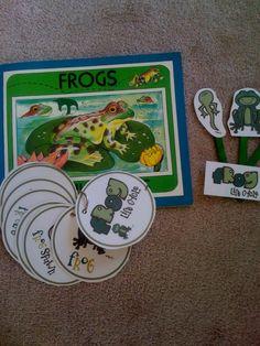 free frog life cycle printables