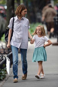 Sofia Coppola Walks Daughter Romy Mars To School in NYC
