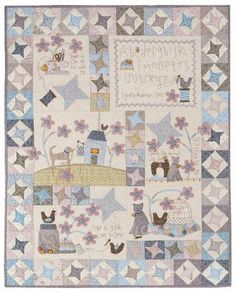 Stitched By Me Full Pattern Set By Anderson, Lynette