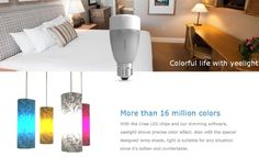 Smart Bulb Bluetooth 4.0 Control W/ IOS Android Apps iPad/iPhone
