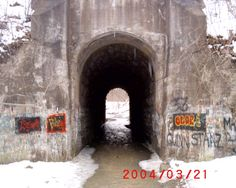 The Screaming Tunnel, Niagara Falls, Ontario - a little girl was murdered here and she still screams - people regularly report this phenomenon
