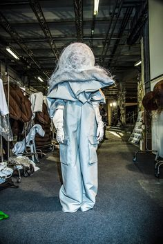 """The designer dubbed his fall/winter 2016 collection """"Mastodon,"""" referencing the extinct, elephant-like species of the Ice Age."""