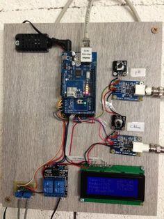 Mesure Chlore Redox avec Arduino