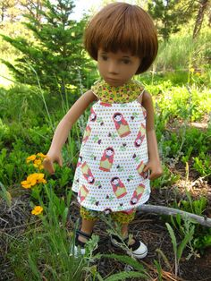 This is a fun and easy spring and summer pattern. Wear it as a top or dress. Make it modern or heirloom. Its a great place to mix fun prints and use