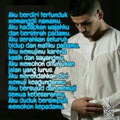 Persembahanku Islamic Inspirational Quotes, Islamic Quotes, Positive Thoughts, Positive Quotes, Muslim Quotes, Doa, Allah, Positivity, Life