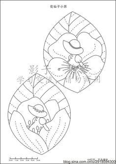나뭇잎 동전지갑 패턴 : 네이버 블로그 Hand Embroidery Patterns, Applique Patterns, Applique Quilts, Applique Designs, Embroidery Applique, Quilt Patterns, Quilting Templates, Applique Templates, Quilting Projects