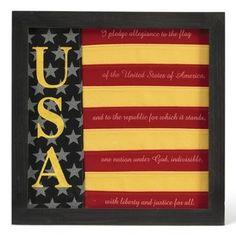 USA Flag Art