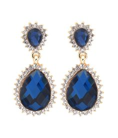 Big Tree 18k Gold Plated Blue Stone Drop Earring For Women, http://www.snapdeal.com/product/big-tree-18k-gold-plated/667952563889
