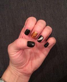 Black and Copper My Nails, Gemstone Rings, Copper, Gemstones, Beauty, Black, Jewelry, Jewlery, Gems