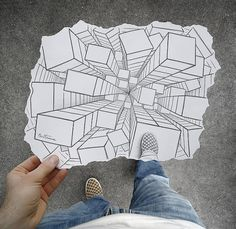 Perspective et illusion optique Designspiration — Pencil Vs Camera by Ben Heine I Art Sponge