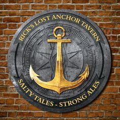 LOVE THIS custom anchor sign for Navy, Marines, US Coast Guard members that can be personalized with their name and rank!  #anchor