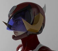 Hurricane Polimar - Face Closeup - Anime Manga  3D model by Zero13 (Cristian Giuseppone)