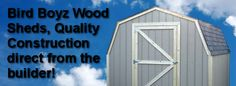 Wood Storage Shed