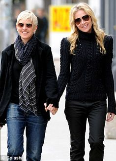 Ellen Degeneres & Portia DeRossis