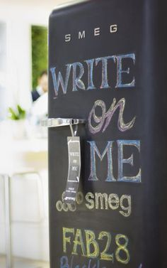 Smeg Blackboard Fridge
