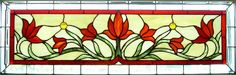 Celia\'s Transom - Stained Glass Transoms - Dean\'s Stained Glass