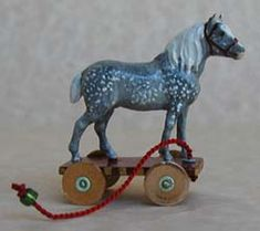 PULL HORSE - €22.50 : Valerie Anne Casson, Miniatures