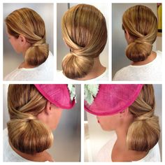 Recogido lateral Casual Hairstyles, Fringe Hairstyles, Diy Hairstyles, Bridal Hairstyles, Simple Wedding Updo, Hairdo Wedding, Long Curly Hair, Curly Hair Styles, Pelo Formal