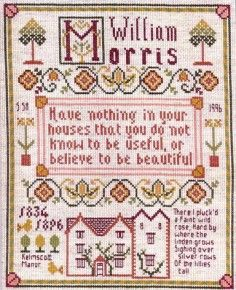 William Morris sampler