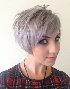 Short Hairstyles for Gray Hair 2015