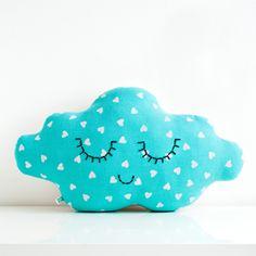 Coussin nuage Blue Love