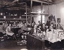 1930s Potbank Girls at Burleigh Pottery Staffordshire see history on link and their modern productions