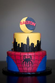 My nephew would go crazy over this cake!!!!Spiderman cake by intricate icings