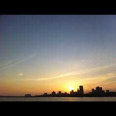 #Horizon @ #Woodlands #Waterfront #Woodlands #Waterfront - #sunset #sky #skyline #nature #singapore #sg #jetty #beach #coast #coastline #beautiful #scenary #nofilter #jb #johorstraits #johor  #iphone4s #guosheng #guoshengz