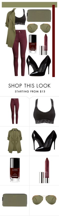 """""""Untitled #256"""" by romi-kella on Polyvore featuring H&M, Charlotte Russe, Dolce&Gabbana, Chanel, Clinique, Marc Jacobs and Linda Farrow"""