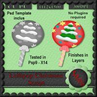 Lollipop Christmas Script [Designs by seve] - $3.00 : LowBudgetScrapping