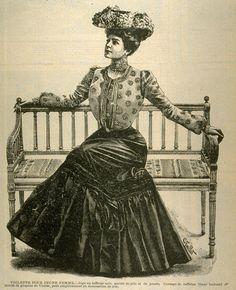 illustration de mode française, 1902