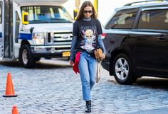 The+Latest+Street+Style+From+New+York+Fashion+Week+via+@WhoWhatWear