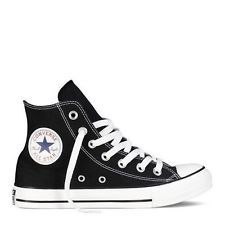 af4f60738f Converse Hi Top All Star Chuck Taylor Black White Mens Womens Shoes All  Sizes Tênis De