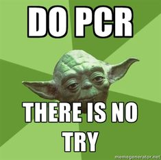 Wise Yoda on PCR. I will need this advice soon.