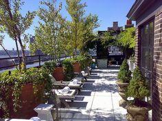 Os mais badalados 'rooftops' de Nova York - Sky Terrace, Hudson Hotel