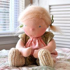 "Anouk- 12"" Waldorf Doll"