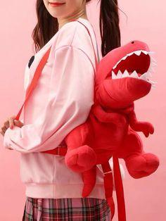 Animal Bag, Cool Outfits, Fashion Outfits, Kawaii Accessories, Cute Backpacks, Kawaii Clothes, Cute Bags, Kawaii Fashion, Look Cool