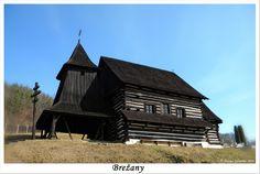 Slovakia, Brežany - Wooden church