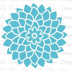 Vinyl Wall Decals Flower WallPaper Bloom Decals by LaLeni on Etsy, $40.00