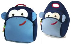 Boys//Girls Blue Preschool Toddler Kids Backpack /& Lunch Box Set Music Clef